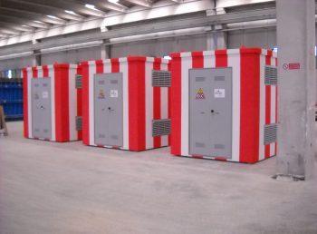 Cabine elettriche omologate